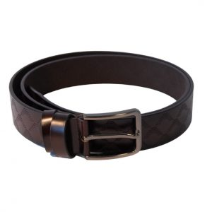 cintura marrone lucida